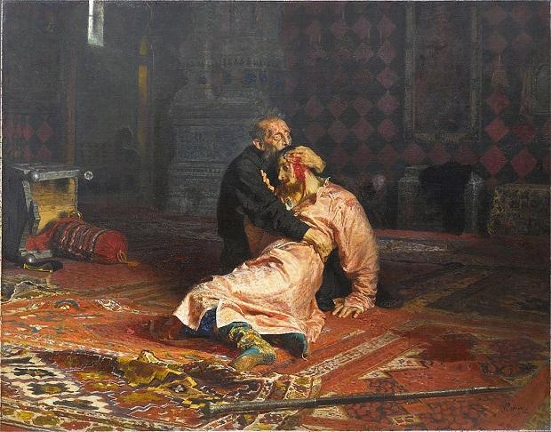 «Иван Грозный и сын его Иван 16 ноября 1581 года» (1885)