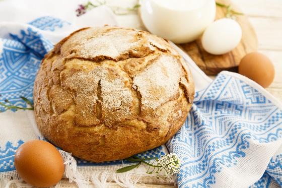 Хлеб считался кормильцем и ассоциировался с солнцем