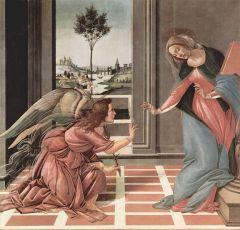 Благовещение Девы Марии у западных христиан