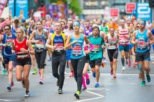Ежегодный марафон в Лондоне