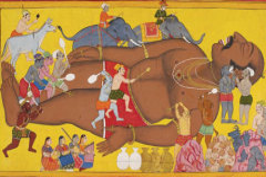 Завершение недели древнеиндийского эпоса «Рамаяна»