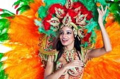 Карнавал Рио в Бразилии