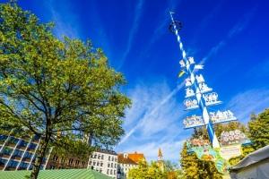 Майский праздник в Германии