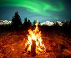 День Зимы (Зимние ночи) в Исландии