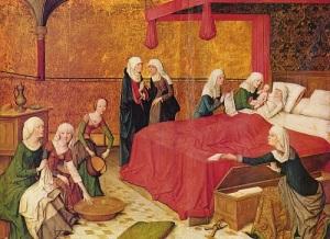 Рождество Божьей Матери у западных христиан