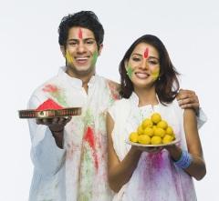 Холи — праздник красок в Индии