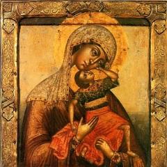 Празднование в честь явления иконы Божией Матери «Взыграние Младенца»