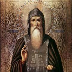 День преподобного Нила Столобенского
