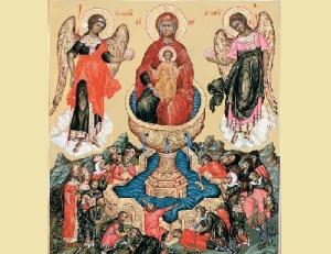 Празднование в честь иконы Божией Матери «Живоносный Источник»