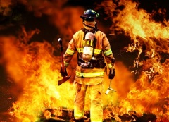 День работника противопожарной службы Кыргызстана