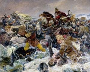 День победы русских воинов князя Александра Невского над немецкими рыцарями на Чудском озере