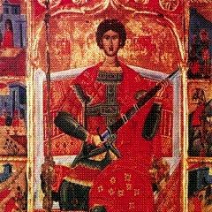 Чудо святого Георгия Победоносца в Елорском Храме