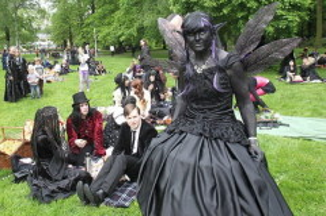 Фестиваль готической музыки и культуры в Лейпциге