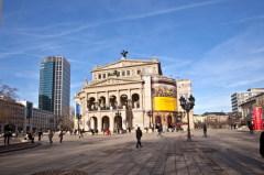 Народное гуляние «Опернплацфест» во Франкфурте-на-Майне