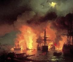 День воинской славы России — День победы русского флота над турецким флотом в Чесменском сражении (1770 год)