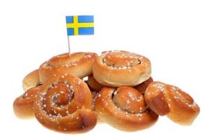 День булочек с корицей в Швеции (Kanelbullens dag)
