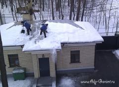 Очистка кровли от снега и наледи – важные аспекты и рекомендации