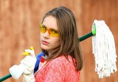 В какие числа месяца лучше проводить капитальную уборку помещения?
