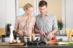 Дизайн бытовой техники в различных кухонных интерьерах