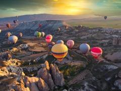 Когда в Каппадокии организуют праздник воздушных шаров