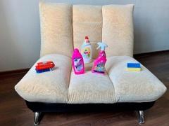 Химчистка дивана своими руками в домашних условиях