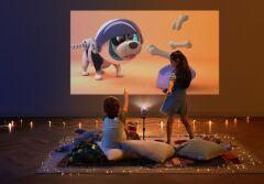 Космические эмоции от земного устройства: портативный проектор для дома и путешествий