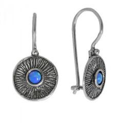 Серебряные серьги – стильно и современно