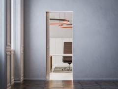 Как сэкономить пространство квартиры с помощью двери