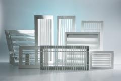 Вентиляционные решетки из оцинкованной стали