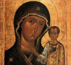 Явление иконы Пресвятой Богородицы в Казани