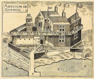 Самюэль де Шамплен основал  форт Квебек