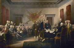 Подписана Декларация независимости США