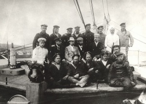 Из Кронштадта на поиски мифической Земли Санникова вышла экспедиция Эдуарда Толля