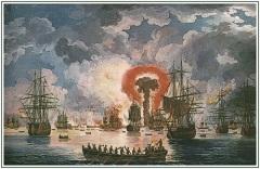 Во время русско-турецкой войны 1768-1774 годов произошло Чесменское сражение