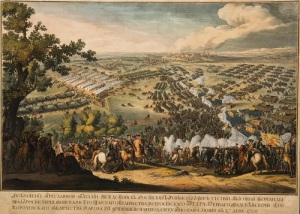 Русская армия Петра I разбила шведскую армию короля Карла XII в Полтавском сражении