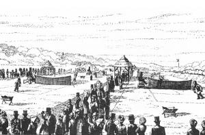 В Уимблдоне состоялся  первый теннисный турнир