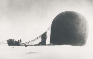 Предпринята первая попытка исследования Арктики с помощью аэростата