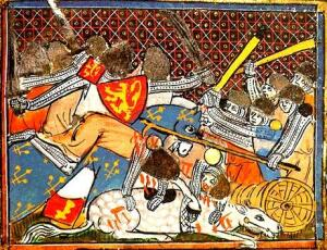 При Куртре во Фландрии состоялась «Битва золотых шпор»