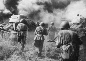 В ходе битвы на Курской дуге состоялось крупнейшее танковое сражение Второй мировой войны