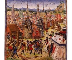 Участники первого крестового похода начали штурм Иерусалима