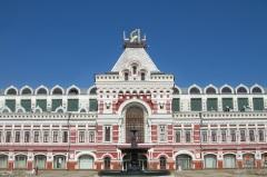 Открылась Нижегородская ярмарка - крупнейшая ярмарка в царской России