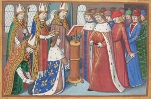 В Реймском соборе состоялась коронация короля Франции Карла VII