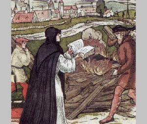 Мартин Лютер поступил в августинский монастырь