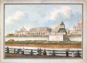 На Москве-реке заложена старейшая из башен Московского Кремля – Тайницкая
