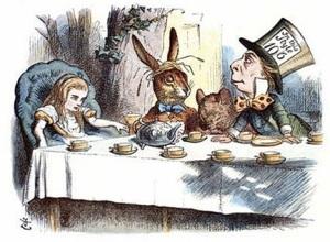 Вышло первое издание книги Льюиса Кэрролла «Приключения Алисы в Стране Чудес»
