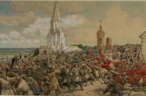 В Москве произошел «Медный бунт» - массовое восстание посадских людей против выпуска медных денег