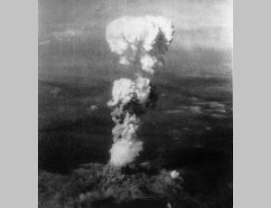 На японский город Хиросима сброшена атомная бомба