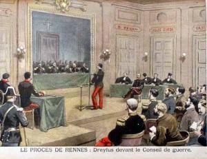 Французский капитан Альфред Дрейфус повторно приговорен к пожизненному заключению