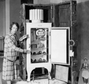 Американский изобретатель Альберт Маршалл запатентовал холодильник