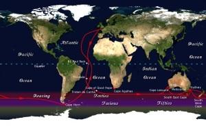 Английский путешественник в одиночку отправился в кругосветное плавание на яхте